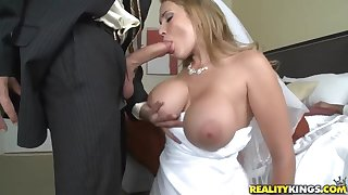XXX bride Alanah Rae cheats on her groom there best friend!