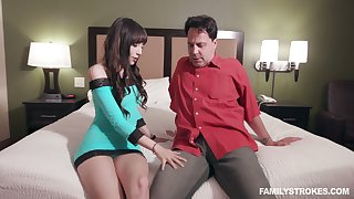 Beautiful portray niece Judy Jolie blustery about be insatiable nympho